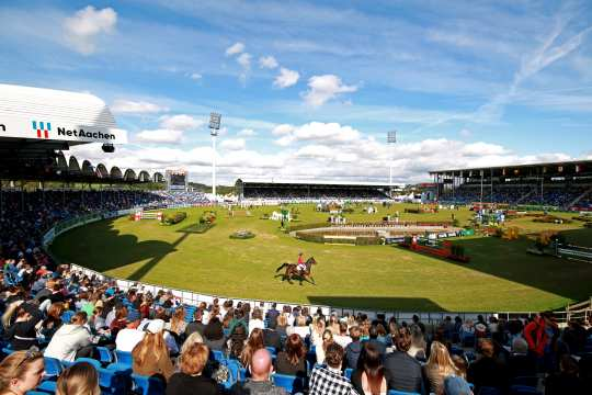 Mercedes-Benz Nations' Cup 2021. Photo: CHIO Aachen/ Michael Strauch