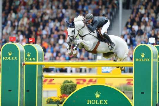Gregory Wathelet und Corèe im Rolex Grand Prix © CHIO Aachen/Andreas Steindl