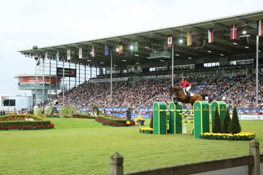 Mercedes Benz Nations' Cup 2019. Photo: CHIO Aachen/Michael Strauch