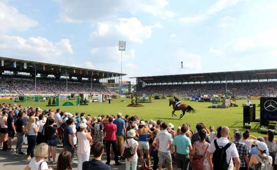 Rolex Grand Prix 2018. Photo: CHIO / Michael Strauch
