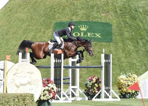 Steve Guerdat riding Corbinian  SUI