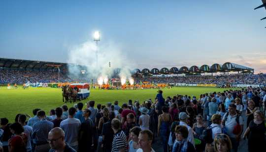 Eröffnungsfeier 2017 Foto: CHIO Aachen / Arnd Bronkhorst