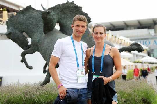 Thomas und Lisa Müller zu Gast beim CHIO Aachen 2018. Foto: CHIO Aachen / Andreas Steindl