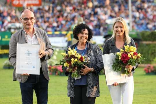 Christophe Bricot, Terri Miller and Ashley Neuhof