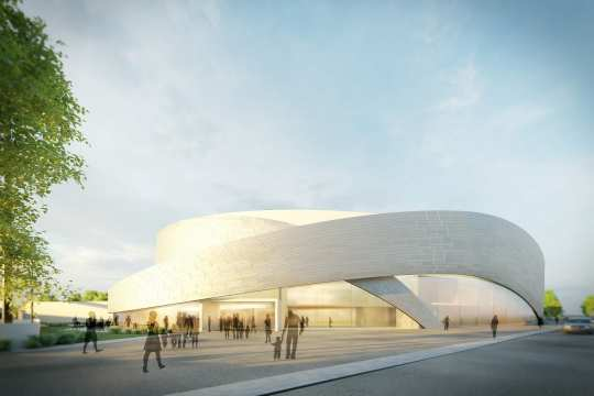 This is what it is supposed to look like: the planned CHIO Aachen CAMPUS Arena.