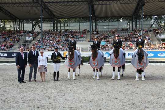 Prize giving ceremony Prize of Handwerks Photo: CHIO Aachen / Michael Strauch