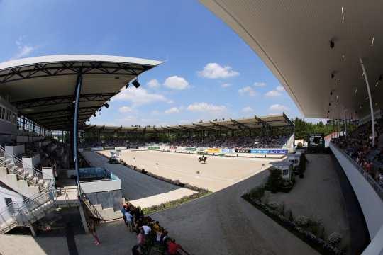Deutsche Bank Stadium. © CHIO Aachen/Michael Strauch
