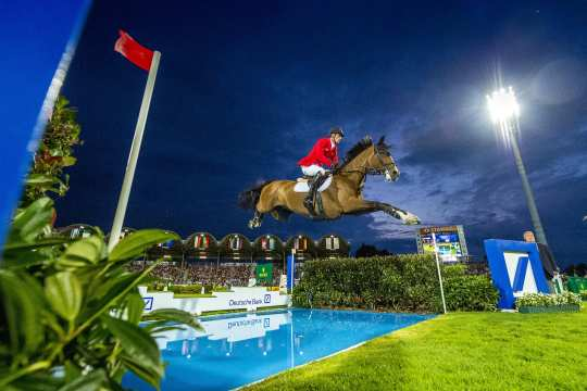 Mercedes-Benz Nations' Cup at the CHIO Aachen.  (Photo: CHIO Aachen/ Arnd Bronkhorst).