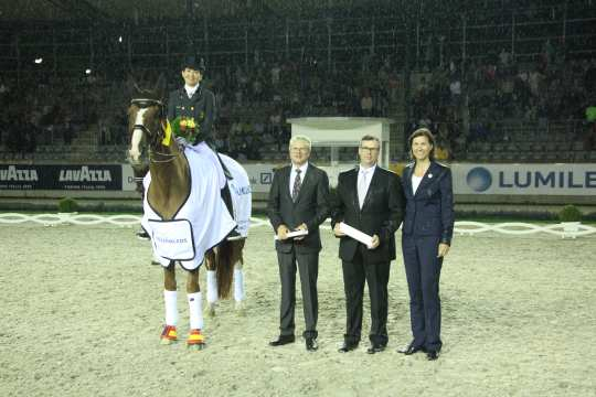 Prize giving ceremony: LUMILEDS-Prize Photo: CHIO Aachen / Foto: Michael Strauch