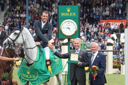 Siegerehrung Rolex Grand Prix Foto: CHIO Aachen / Foto Studio Strauch