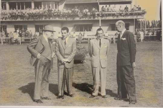 Am Rande der WM Aachen 1956. Foto: CHIO Aachen/ Archiv