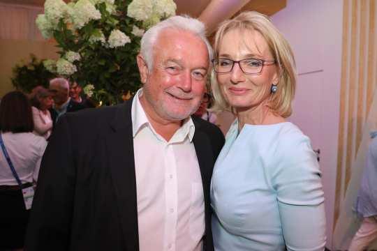 Wolfgang Kubicki mit Ehefrau Annette