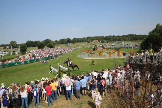Many visitors at SAP-Cup in the cross-country course. Photo: CHIO Aachen / Michael Strauch