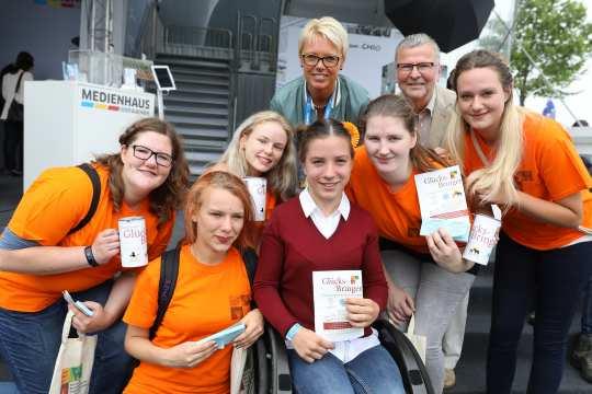 Die Glücks-Bringer Aktion 2017.