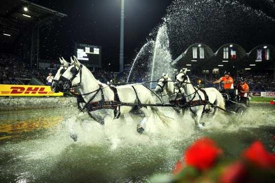 Rasante Szenen beim Lavazza-Cup. Foto: CHIO Aachen/ Michael Strauch