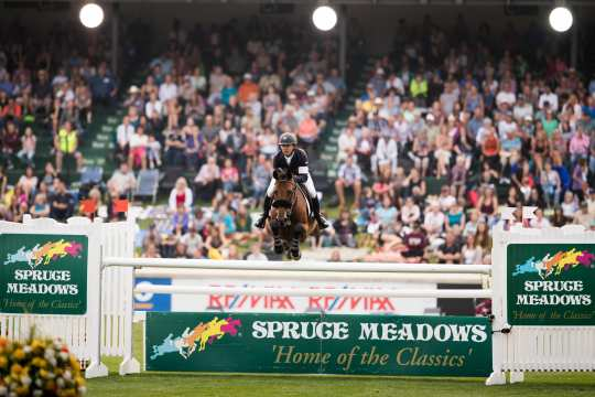 Das Spruce Meadows Masters - nächste Station im Rolex Grand Slam of Show Jumping.