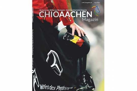 Aktuelle Ausgabe - Alle Informationen zum Abonnement gibt es per E-Mail bei der Aachener Reitturnier GmbH: conny.muetze@chioaachen.de