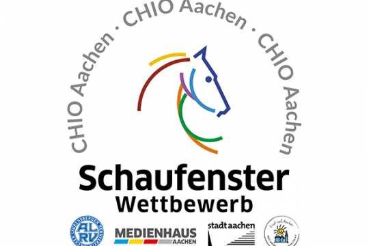 Schaufensterwettbewerb zum CHIO Aachen 2019