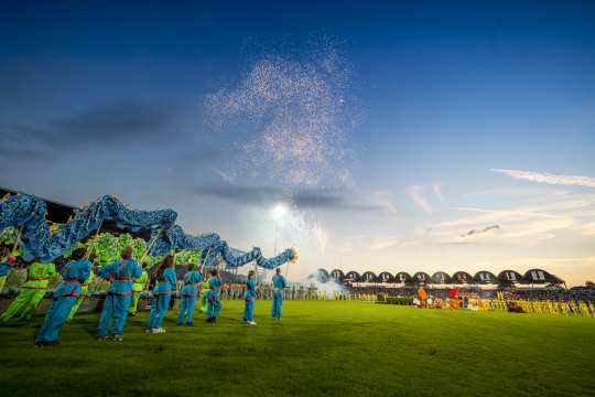 A spectacular show: The opening ceremony 2018.