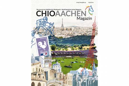The current issue of the CHIO Aachen Magazine.