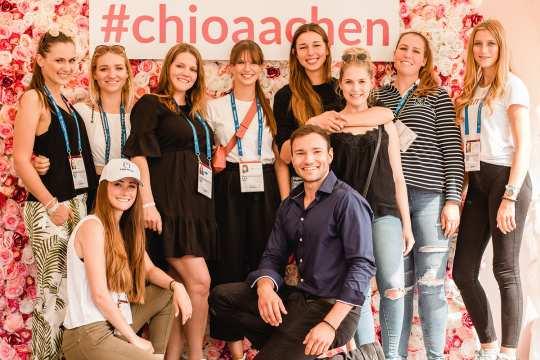 Die Blogger beim CHIO Aachen 2019.