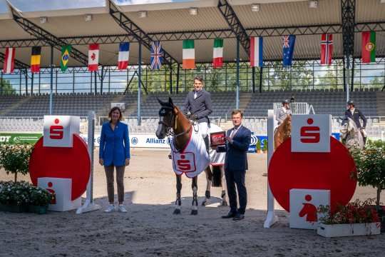 Foto: Aachen International Jumping/Arnd Bronkhorst