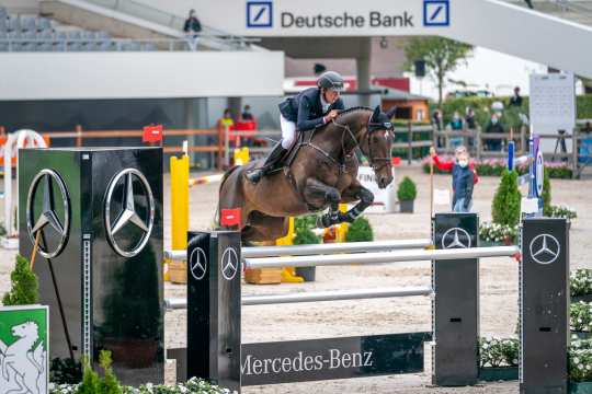 The world elite of the show-jumpers competed at the Aachen International Jumping. Foto: Arnd Bronkhorst
