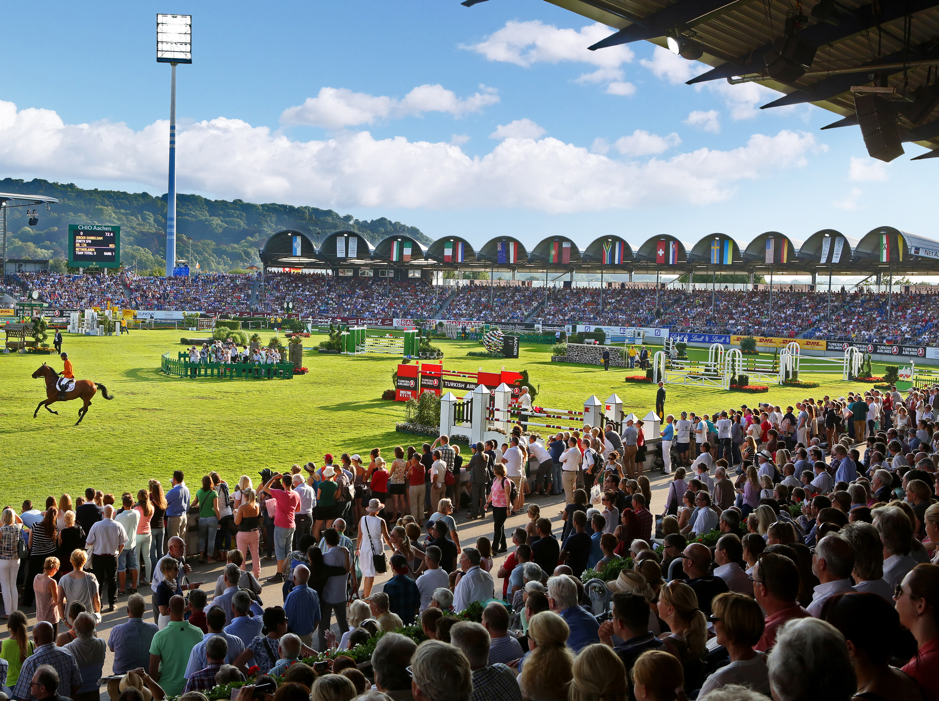 The CHIO Aachen will take place in 2021 from 10 to 19 September.