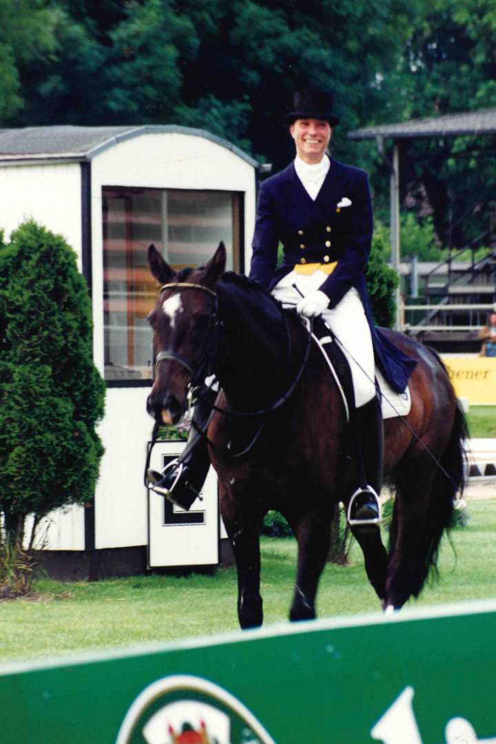 Stefanie Peters knows what it's like to be at the CHIO: In 1997 she competed with her successful horse Davidoff.