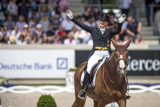 Isabell Werth. Foto: CHIO Aachen CAMPUS/ Arnd Bronkhorst