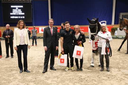 Jannik Heiland wins the men's competition. Photos: CHIO Aachen/ Michael Strauch